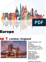 Top 10 Place to Visit in Europe 2016