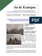 Diario de Ecatepec 8 al 14 de Abril 2008