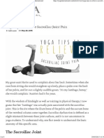 Yoga Tips to Relieve Sacroiliac Joint Pain _ Yoga International