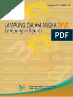 Lampung Dalam Angka 2015