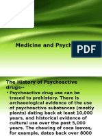 Medicine and Psychoactive DRUGS