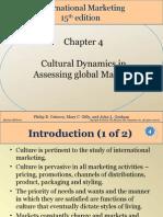 Chap004 ppt cultural dynamics
