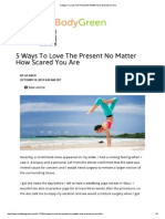 5 Ways to Love the Present