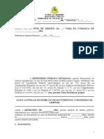 Acao Cautelar _ Exibicao de Documentos _ Requisicao de Documentos Nao Atendida