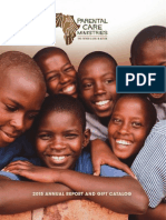 2015 Annual Report and Gift Catalog