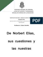 De Norbert Elías, Sus Cuestiones y Las Nuestras
