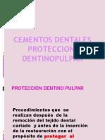 Materiales de Proteccion Dentino Pulpar