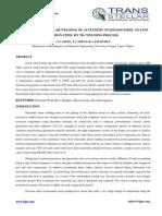 1. IJMMM Manuscript_Analysis of Dissimilar Welding