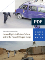 Human Rights in Western Sahara