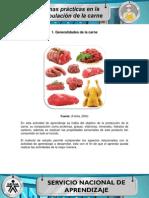 Generalidades de La Carne