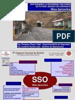 8vo Congreso Mineria Peru - Eusterio Huerta León