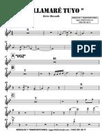 ME LAMARÉ TUYO - Victor Manuelle - 1° Trompeta en Bb