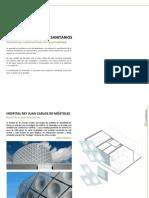 Fachadas en Edificios Sanitarios