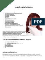 La Consultation Pre Anesthesique 5309 Myy9j1