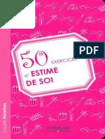 50 Exercices d Estime de Soi Laurie Haweks by Mourad