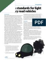 Factsheet Emission Standards