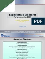 Expectativa Electoral Parlamentarias 2015 - Portuguesa C1 - R1 - F