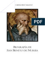 Biografía de San Benito