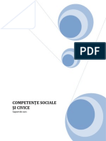 Competente Sociale Civice Manual