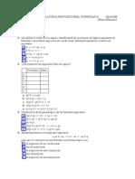 Ejercición Para Examen de Lógica Universidad
