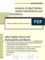 Reactions of Alkylhalides