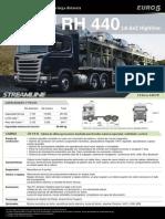 Scania Rh_440 t3 s2 Carga de Vehiculos