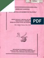 tari Agraris;seminartari;isisolo/RDP/