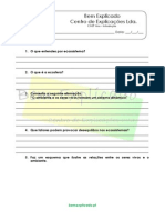 B.1.1 Ficha de Trabalho Níveis de Organização Dos Ecossistemas 1