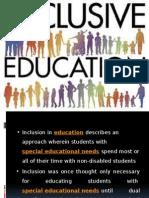 Presentation on inclusive education