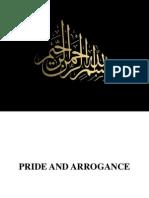 Lec 12- Pride and Arrogance