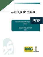 Presentación- Derecho a Una Educación de Calidad, 2008