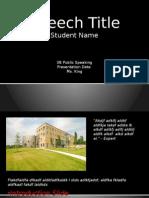 persuasive speech visual template