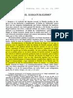 Bobbio - Hege y El Iusnaturalismo