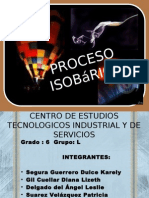 proceso isobrico