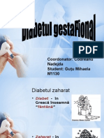 Diabet Gestational