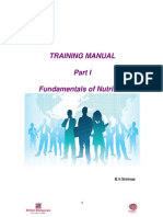Training Manual Part 1 Nutrition