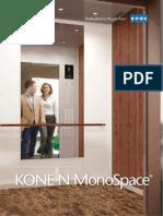 KONE N MonoSpace SOC Brochure