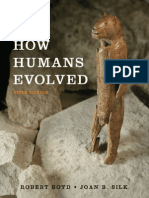 How Human Evolved