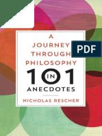 Anecdotes a Journey Through Philosophy