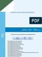 Informe Inversión en el Sistema Universitario Argentino 2015