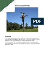 Electrificacion Urbana y Rural Con Imagenes