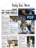 The Daily Tar Heel for March 30, 2010
