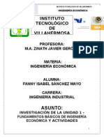 INGENIERIA ECONÓMICA u1-2