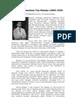 Biografi Almarhum Tan Malaka