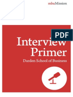 UVA Darden Interview Primer