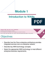 Module 1 Introduction to WANs