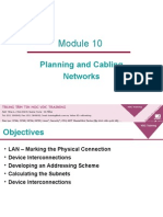 Module10-Planning and Cabling Networks