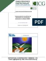 Implementacion de Politicas de Pavimentos en Concesiones, Empleado El Doftware Hdm4