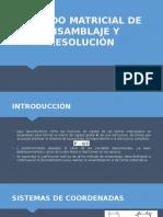 Método Matricial de Ensamblaje y Resolución