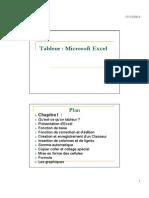 Support de Cours Excel Presentation